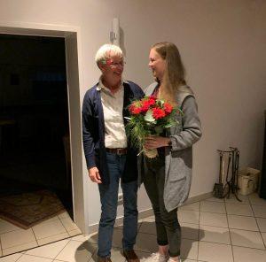 Corinna und Frau Nabben