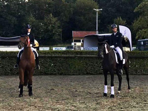 2. Platz Youngster S Tobias Nabben und Black Jack